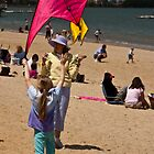 one girl's kite by cesanciano