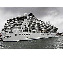 The World Cruise Ship Photographic Print