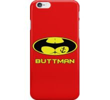 Buttman with Sailor Anchor  Tatoo iPhone Case/Skin