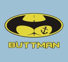 Buttman with Sailor Anchor  Tatoo One Piece - Short Sleeve