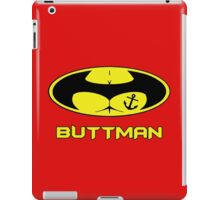 Buttman with Sailor Anchor  Tatoo iPad Case/Skin