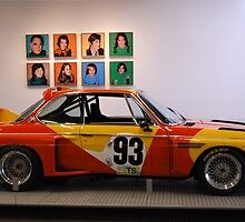 Alexander Calder BMW 3.0 CSL Art Car by Steve Mezardjian