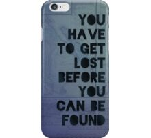 Lost and Found iPhone Case/Skin