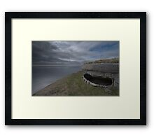 Front Row Seat To Armageddon Framed Print