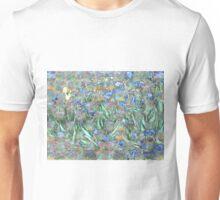 van Gogh Irises by Wendy Grace Allen Unisex T-Shirt