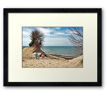 A place in the sun....... Framed Print