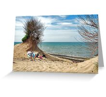 A place in the sun....... Greeting Card