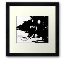 Stray Framed Print