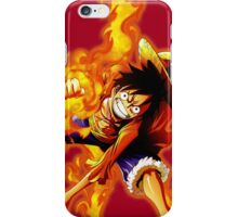 Luffy Red Hawk iPhone Case/Skin