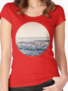 Pacific Ocean Women's Fitted Scoop T-Shirt