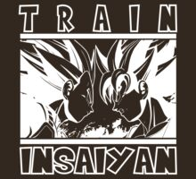 Train Insaiyan - dark T-Shirt