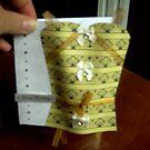 Oriental corset card by anaisnais
