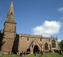 Broughton Church by Victoria Kidgell