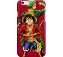 Luffy and Zoro iPhone Case/Skin