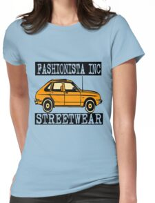 FASHIONISTA AUTOMOBILE Womens Fitted T-Shirt