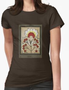 Red Flowers Bride T-Shirt