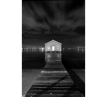 Boatshed Photographic Print