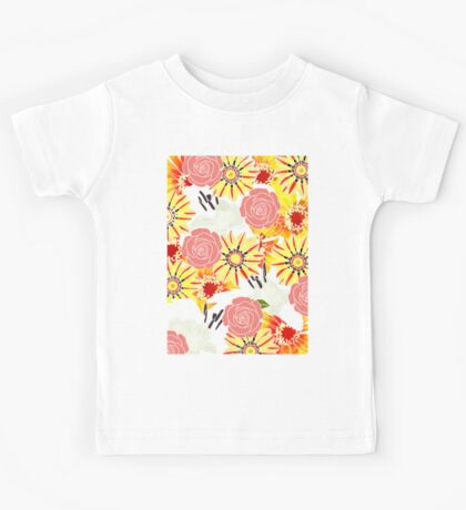 Flowers Of Summer Kids Tee