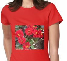 Dance of the Dahlias Womens Fitted T-Shirt