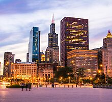 The View from Buckingham Fountain by anjoaguilar