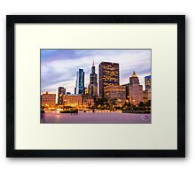 The View from Buckingham Fountain Framed Print