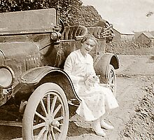 I FOUND MY CAT!! ~ T model Ford of cira 1923 by BCallahan