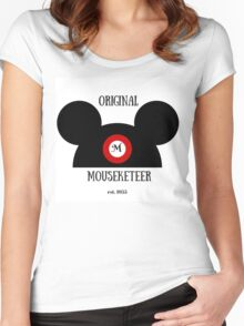 Original Mouseketeer Women's Fitted Scoop T-Shirt
