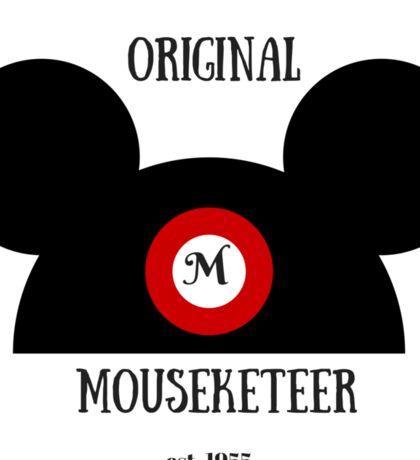 Original Mouseketeer Sticker