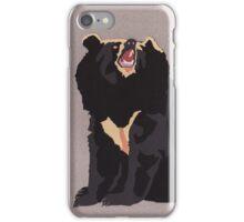 Asiatic Black Bear iPhone Case/Skin