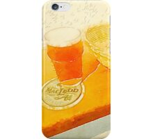 A pint and some peanuts iPhone Case/Skin
