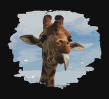I Am Giraffe - Silly Giraffe Baby Tee