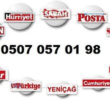 0507 057 01 98 - HÜRRİYET İLAN VERME MERSİN by gazeteilanverme