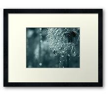 Glitter Framed Print