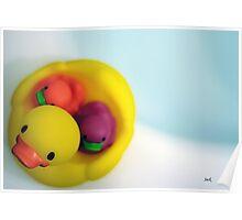 Ducky kids Poster