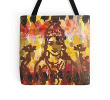 Lakshmi Goddess of Abundance yoga inspired art Tote Bag