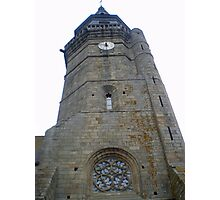 Church Tower in Medieval Photographic Print