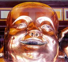 Shiny, Happy Buddha  by Ethna Gillespie