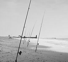 Surfcasting, Hossegor (France) by MitchHippie