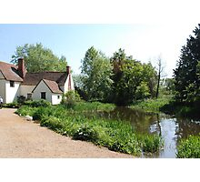 Flatford Mill - home of the Haywain by Constable Photographic Print