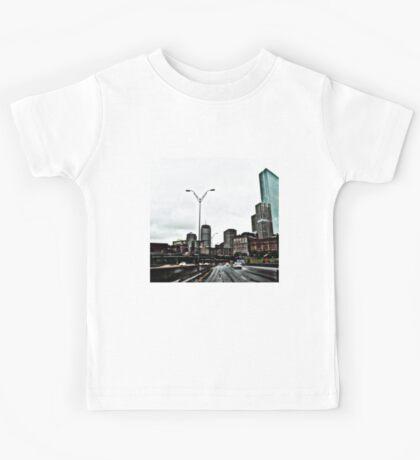 Mass Pike Boston Ma Kids Tee