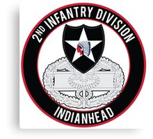 2nd Infantry CFMB Canvas Print