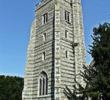 Newington Church Tower by Dave Godden