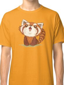 Red panda happy Classic T-Shirt