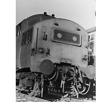Class 37 at Westbury Photographic Print