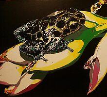"""Dart Froggie"" by Jesi Marie Timpe"