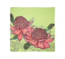 Australian Flower Series - Waratah Colour Scarf