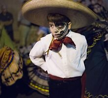 All Souls Procession 2014. Baile Folklorico. Tucson, Arizona, USA. by isaacflater
