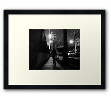 Laurie Night Framed Print