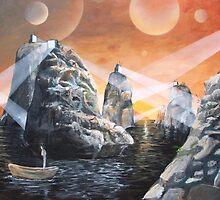 Gods of Society by Bobby klagge