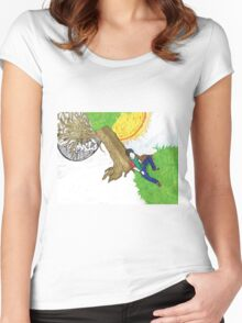Night and Day Women's Fitted Scoop T-Shirt